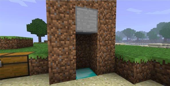 Как сделать лифт в minecraft?